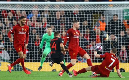Liverpool-Atletico Madrid 2-3: video, gol e highlights della partita di Champions League