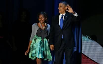 #WhereIsSasha? La figlia minore assente al discorso di Obama