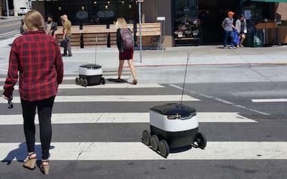 Le consegne con i robot arrivano in Silicon Valley e a Washington