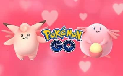 Pokemon Go per San Valentino si tinge di rosa