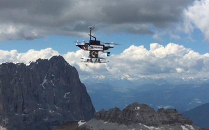 "Droni, robot ed aeromodelli per trovare i dispersi: nasce ""Sherpa"""