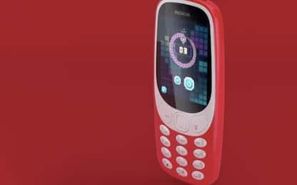 Nokia, ecco il nuovo 3310 (con Snake e un mese di autonomia)