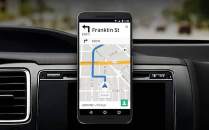 Uber lancia il navigatore per i suoi autisti
