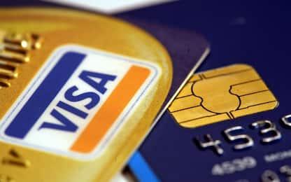 Carte di credito Visa, pagamenti bloccati per ore in Europa