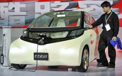 """Shanghai: al Salone dell'auto si punta tutto sulle """"elettriche"""""""