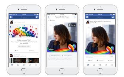 Facebook si tinge d'arcobaleno per il mese dell'orgoglio Lgbt