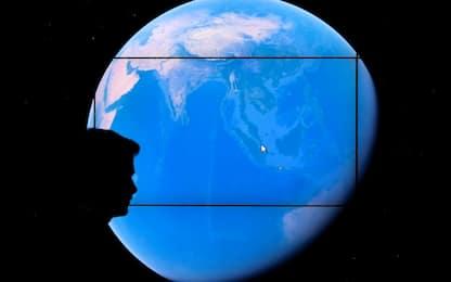 Google Earth su smartphone con 35 anni di cambiamenti della Terra