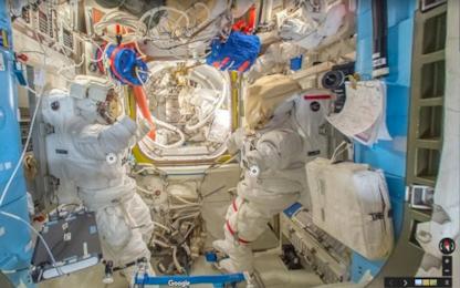 Google Street View sale a bordo della Stazione Spaziale Internazionale