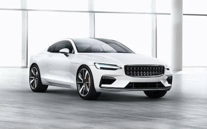 Volvo lancia il marchio Polestar, la prima auto è una sportiva ibrida