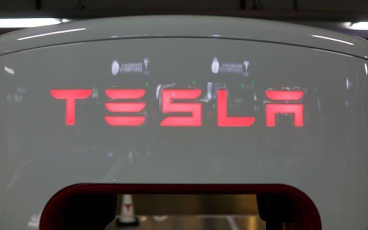 Il logo di Tesla