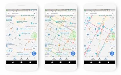 Google Maps, artista crea un finto ingorgo con 99 smartphone. VIDEO
