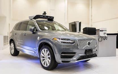 Guida autonoma, accordo tra Volvo e Uber