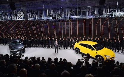 Le foto della Lamborghini Urus