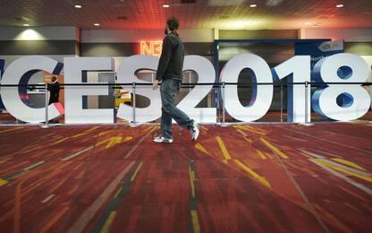 I preparativi del CES 2018 a Las Vegas