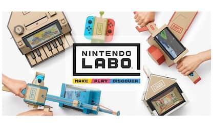 Nintendo Labo, il videogioco diventa di cartone