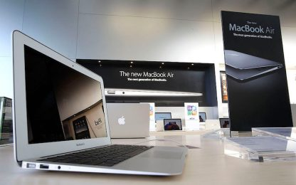 Apple deposita il brevetto per un MacBook con sensori biometrici