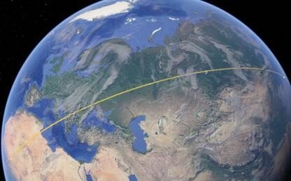 Su Google Earth si possono misurare superfici e distanze