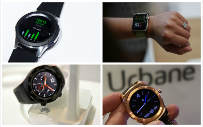 Non solo Apple: quali sono i migliori smartwatch del 2018