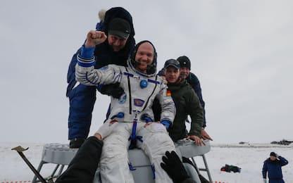 Kazakhstan, la Soyuz rientra con successo dalla Iss