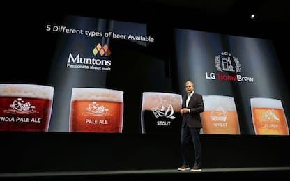 Tv arrotolabile e birra in capsule: le novità di LG al Ces 2019