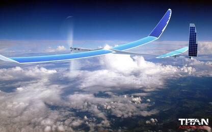 Drone a energia solare per Internet: il progetto di Facebook e Airbus