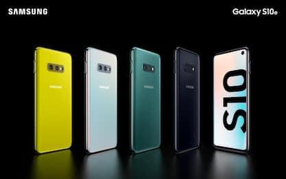 Samsung Galaxy S10, ecco i nuovi smartphone. FOTO