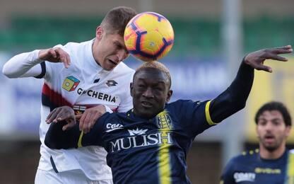 Serie A, Chievo-Genoa 0-0: highlights