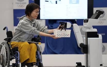 Tokyo 2020, ai Giochi arrivano i robot: assisteranno i disabili