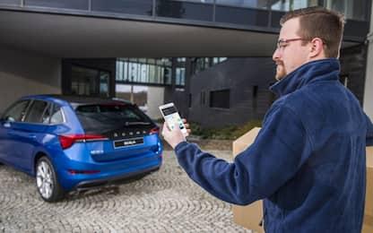 Acquisti on-line, la propria auto come indirizzo di consegna
