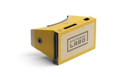 Nintendo Labo, ecco il kit per la realtà virtuale