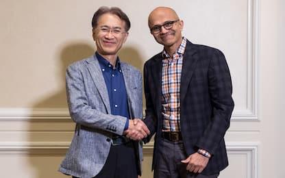 Microsoft e Sony insieme per nuove soluzioni di cloud gaming e IA