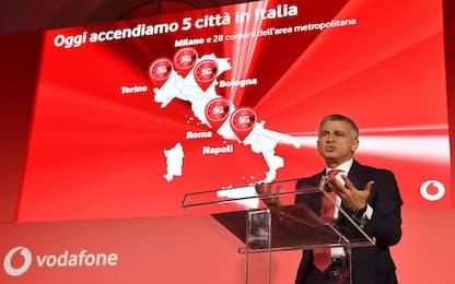 Vodafone lancia il 5G in cinque città italiane