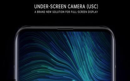 Oppo presenta la fotocamera nascosta sotto al display