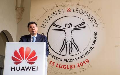"""Huawei annuncia: """"In Italia investimento da tre miliardi di dollari"""""""