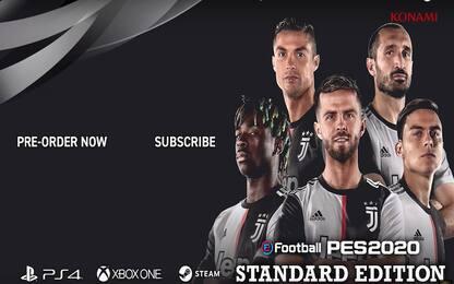 La Juventus giocherà solo su eFootball PES 2020: l'accordo con Konami
