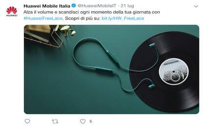 Huawei FreeLace, le cuffie wireless sono disponibili anche in Italia