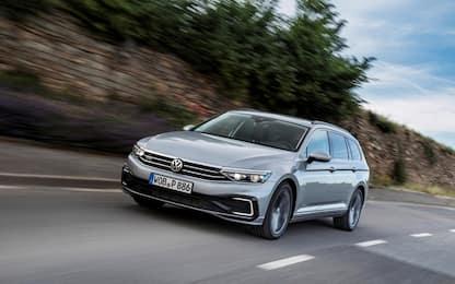 Volkswagen presenta la nuova Passat Gte ibrida plug-in