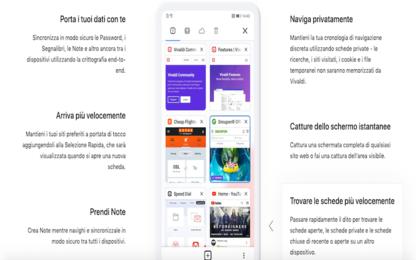 Vivaldi sbarca su mobile: versione beta del browser per Android
