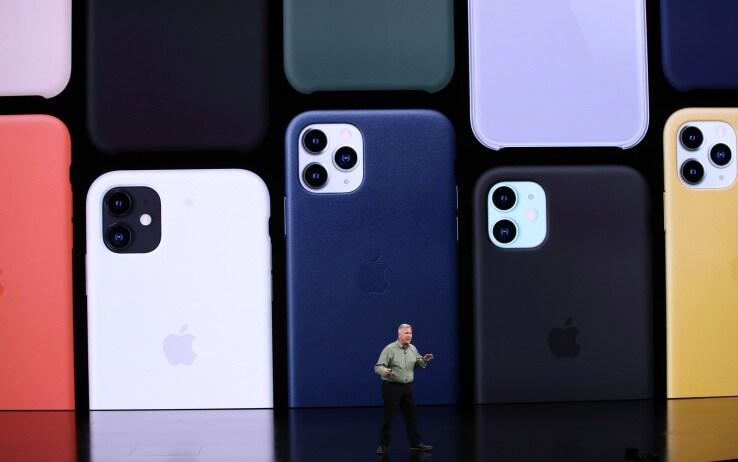 La linea di iPhone 11
