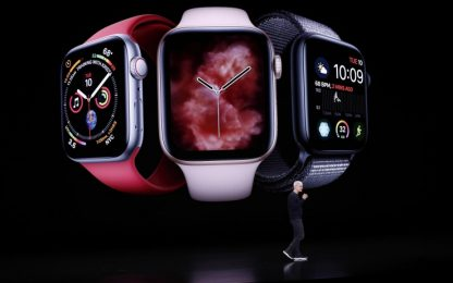 Crescono vendite di smartwatch e auricolari senza fili. Apple in testa
