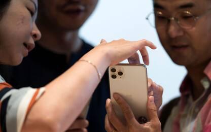 Apple, ecco l'arrivo nei negozi dell'iPhone 11. FOTO