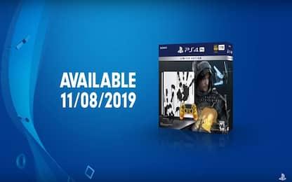 PS4 Pro, svelata un'edizione limitata dedicata a Death Stranding