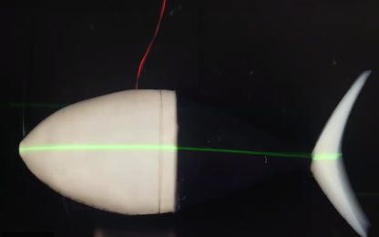 Un nuovo robot tonno ispirerà i veicoli sottomarini del futuro