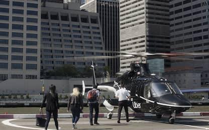 Uber, il servizio taxi-elicottero a New York è disponibile per tutti