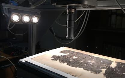 Hyperspectral Imaging, i papiri carbonizzati tornano leggibili