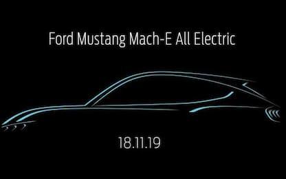 Mustang Mach-E, svelato il nome del Suv elettrico di casa Ford