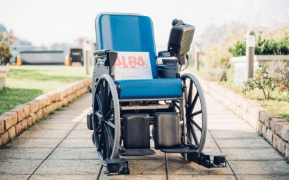 ALBA, la prima carrozzina elettrica a guida autonoma