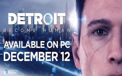 Detroit: Become Human in esclusiva su Epic Games Store da domani