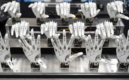 A Tokyo l'International Robot Exhibition. FOTO