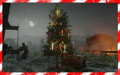 """ll Natale arriva anche su """"Red Dead Redemption 2"""" online"""
